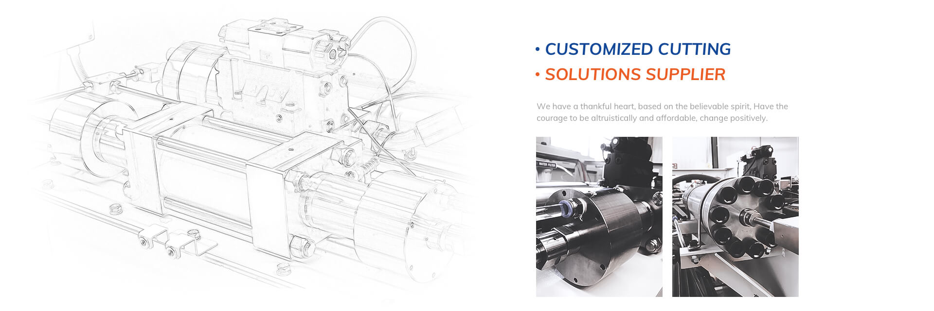 Customized cutting solutions supplier